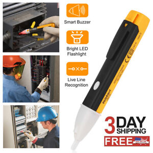 90~1000V Electric Non-Contact Voltage Tester Pen AC Volt Alert Detector Sensor