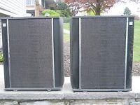 Vintage Akai M-8 Cross Field Reel to Reel Tape Recorder Player SPEAKERS SS-110