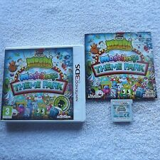 MOSHI MONSTERS MOSHLINGS THEME PARK NINTENDO 3DS V.G.C. FAST POST COMPLETE