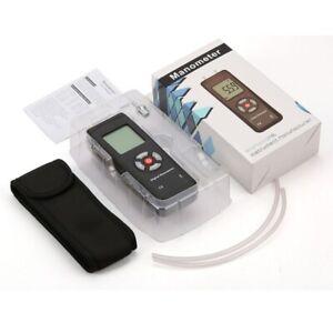 Manometer Air Pressure Meter Handheld Different Pressure Gauge 2psi