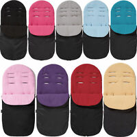 Pushchair Footmuff / Cosy Toes Compatible with Silver Cross
