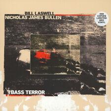 BILL LASWELL / NICHOLAS JAMES BULLEN Bass Terror LP *RED* SEALED john zorn inoue