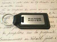 Range Rover Discovery Deporte Velar Llavero Grabado Y No Relleno En Real Cuero