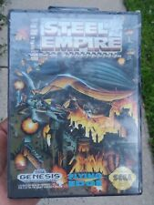 Brand New Rare Steel Empire Sega Genesis 1992 Factory Sealed NIB CIB
