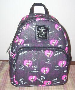 Loungefly Nightmare Before Christmas Jack Sally Love is Eternal Backpack Bag NBC