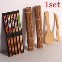 14pcs/set DIY Bamboo Sushi Maker Set Rice Sushi Making Kits Roll Cooking BB