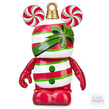 """Disney Parks Vinylmation Jingle Smells Series 3"""" Figure Peppermint Candy Can"""
