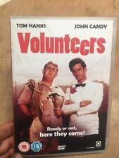 Volunteers-Tom Hanks John Candy(R2 DVD)1985 Genuine UK Release Peace Corps Meyer