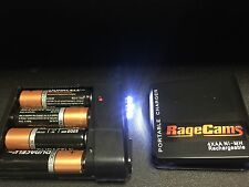 4aa Duracell+USB Battery Holder Power-Charger On/Off Switch Flat Pack 5v DC LED
