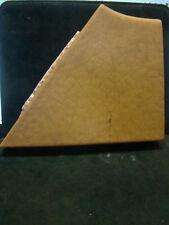 """HUGE ANTIQUE FAIENCE ROOKWOOD TILE MATTE YELLOW 6.5"""" X7.75"""" 1 1/4"""" THICK"""