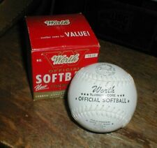 NEW Vintage WORTH Official SOFTBALL TK-12 Torsion Core Nite or Day Original Box