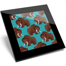 Prehistoric Woolly Mammoth Black Ballpoint Pen Extinct Animal Gift #16012