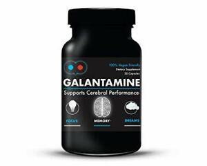 Galantamine 6 mg - Lucid Dreaming, Nootropic, Brain Health, 30 Capsules