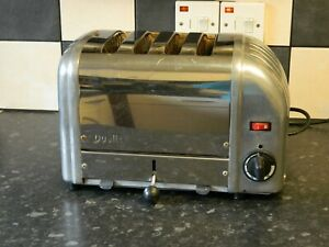 Dualit Toaster 4 Slice in stainless steel and chrome