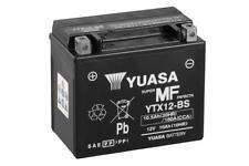 Batería Moto Yuasa YTX12-BS 12V 10Ah 180A 50x87x130 Combipack (con electrolito)