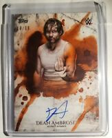 2018 Topps WWE Undisputed /99 Auto & Heritage Dean Ambrose Jon Moxley Lot
