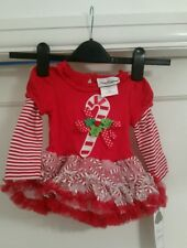 Rare Editions Christmas Baby Dress and leggings. Aged 9 months. BNWT