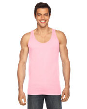 American Apparel Men's Poly/Cotton Tank Top Sport Gym Sleeveless T-shirt BB408W