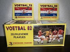 PANINI 1982 VOETBAL 82 BOX PACKET  NETHERLANDS DUTCH LEAGUE 1981-82