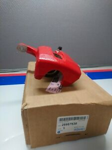 2008-2009 hummer h3 championship edition GM red driver side gm brake caliper
