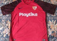 Maillot Football Sevilla FC Wissam Ben Yedder Porté Worn Shirt Toulouse France Fußball Fußball-Trikots
