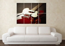 Large Guitar Gibson Epiphone Casino Music Les Paul Wall Poster Art Picture Print