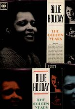 Billie Holiday - 3 UK MONO LP set, the Golden Years vol.1-3 - CBS ed 1