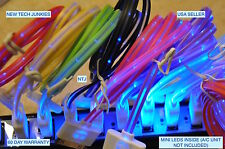 HOT SMILE glow LED light-up data sync charger charge cable for iPhone 3g 4S ipod