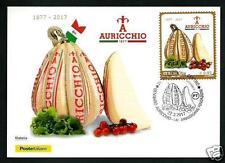Auricchio - Cartolina Filatelica Ufficiale Poste Italiane - 2017