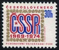 Czechoslovakia 1974 SG#2141 Federal Constitution MNH  #D39069