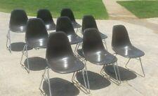 Herman Miller Mid Century Modern Side Chair Eames Dark Grey or Black