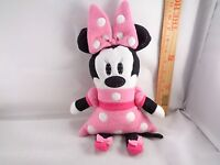 Disney Minnie Mouse With Pink Polka Dot Dress Pillow Plush Stuffed Toy