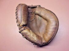 REDUCED! Early REGENT LEATHER CATCHER'S MITT Youth Size Major League Model