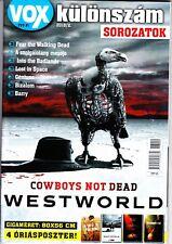 WESTWORLD, FEAR the walking dead, ATLANTA, RACHEL KELLER  Hungarian  magazine