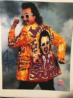 Jimmy Hart autographed PHOTO 8x10 Signed Mouth Of The South  WCW WWE TNA #4 Hof
