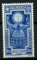 Italia Regno 1933 Sass. 348 Nuovo ** 100% Anno Santo