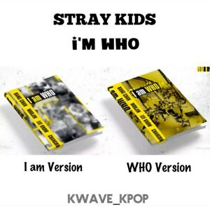 IN STOCK! STRAY KIDS [I AM WHO] ALBUM - KPOP OFFICIALLY SEALED NEW