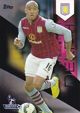 2014 Topps Premier Gold. Fabian Delph (Aston Villa) Black 17/25
