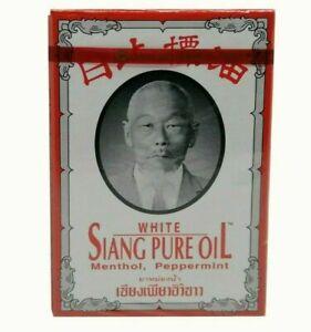 WHITE SIANG PURE OIL MENTHOL, PEPPERMINT 3CC Bertram
