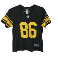 Reebok NFL Equip Pittsburgh Steelers Hines Ward 86 Alternate Jersey Womens Med