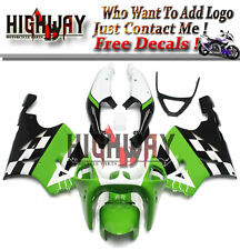 Fairings For Kawasaki ZX7R Ninja 96-03 ABS Fairing Kit Bodywork Green WhiteBlack