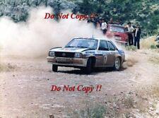 Walter Rohrl Opel Ascona 400 Acropolis Rally 1982 Photograph 1