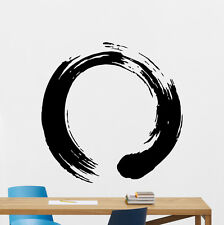 Zen Circle Wall Decal Buddhism Enso Yoga Vinyl Sticker Art Decor Mural 97xxx