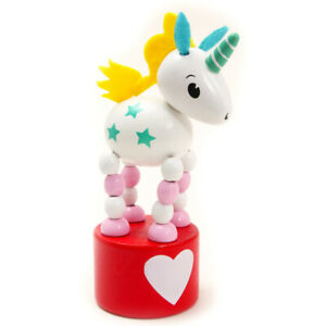Rainbow Unicorn Push Up Toy - Cracker Filler Gift | Cracker Fillers & Gifts