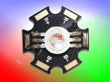 5 Stück 9W (3 x 3W) High Power Led Chip RGB + Starplatine ( rot / grün / blau )