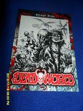2012 BREYGENT DEAD WORLD ZOMBIE CARD #52 & 53 & 54 COMIC ART