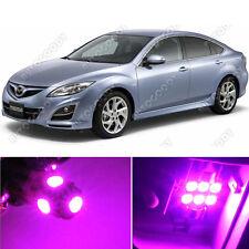 10 x Premium Hot Pink LED Lights Interior Package Kit for Mazda 6