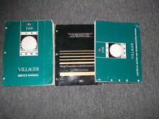 1998 Ford Mercury Villager Service Shop Repair Manual Set 98 W EVTM & PCED OEM