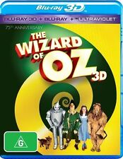 The Wizard Of Oz 3D (Blu-ray 3D + 2D, 2 Disc Set) **75th Anniversary Edition