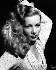 "VERONICA LAKE vintage Hollywood stage actress10"" x 8"" photo print"